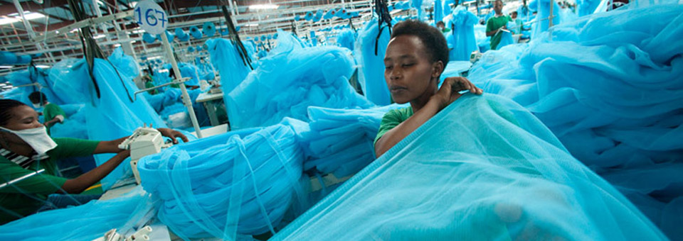 Our Bed Net Factory